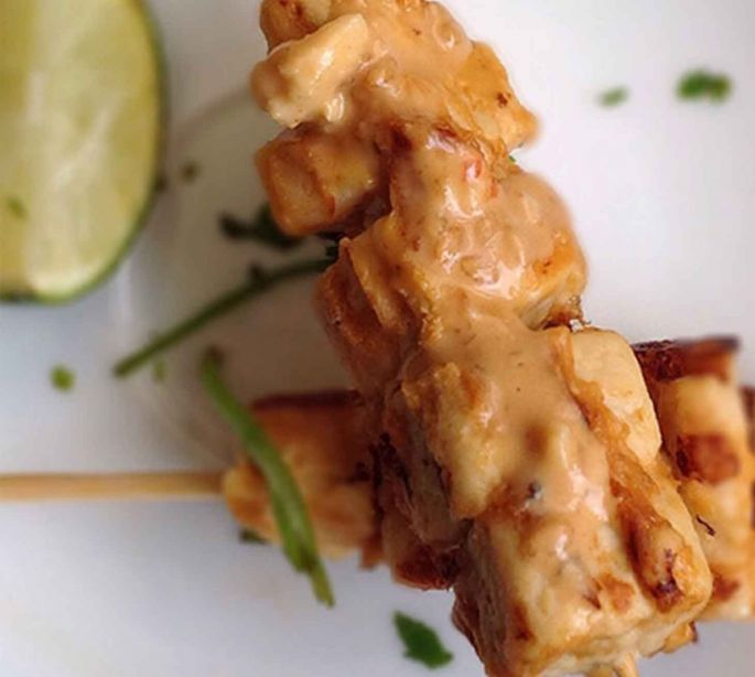 Almond Chicken Kebab