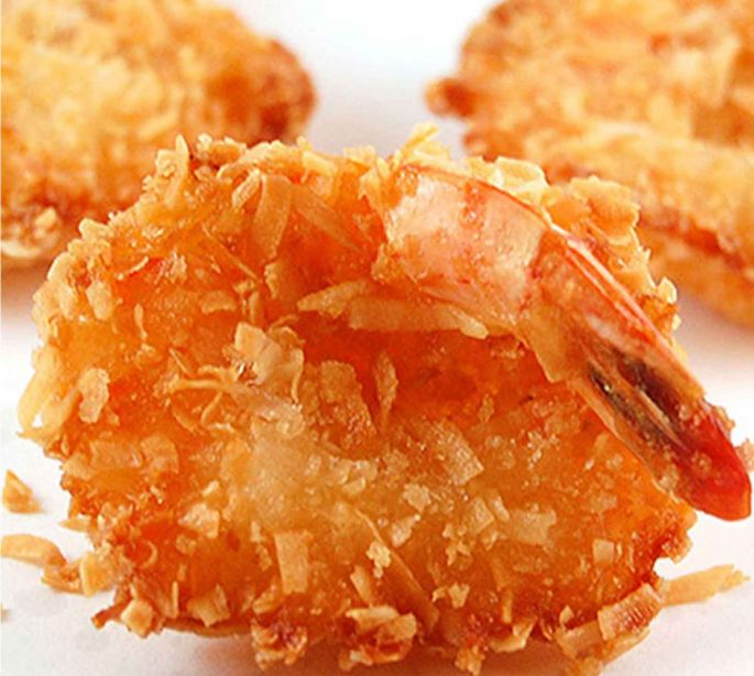 Baked Coconut Crusted Shrimp