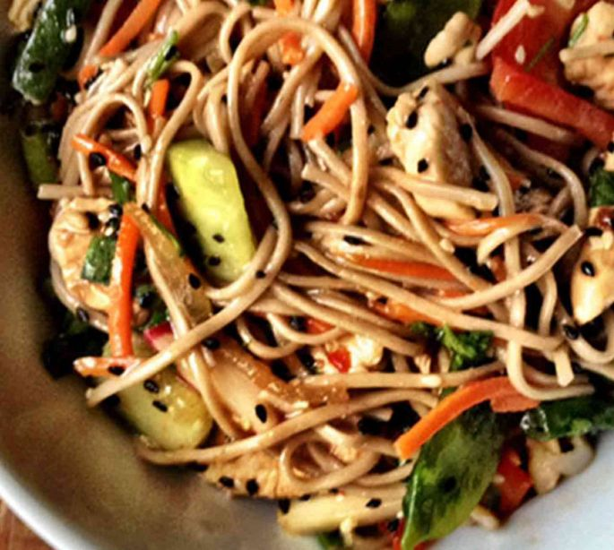 Chicken Soba Noodles