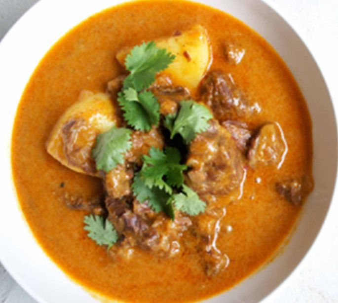 Masaman Curry with Rice